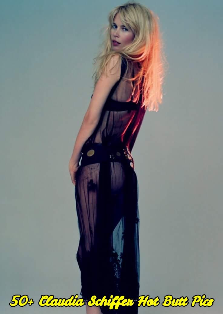 Claudia Schiffer hot butt pics