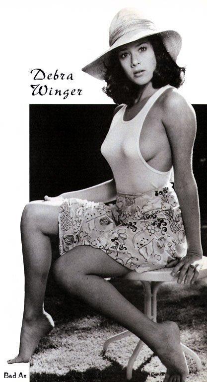 Debra Winger sexy side boobs pics