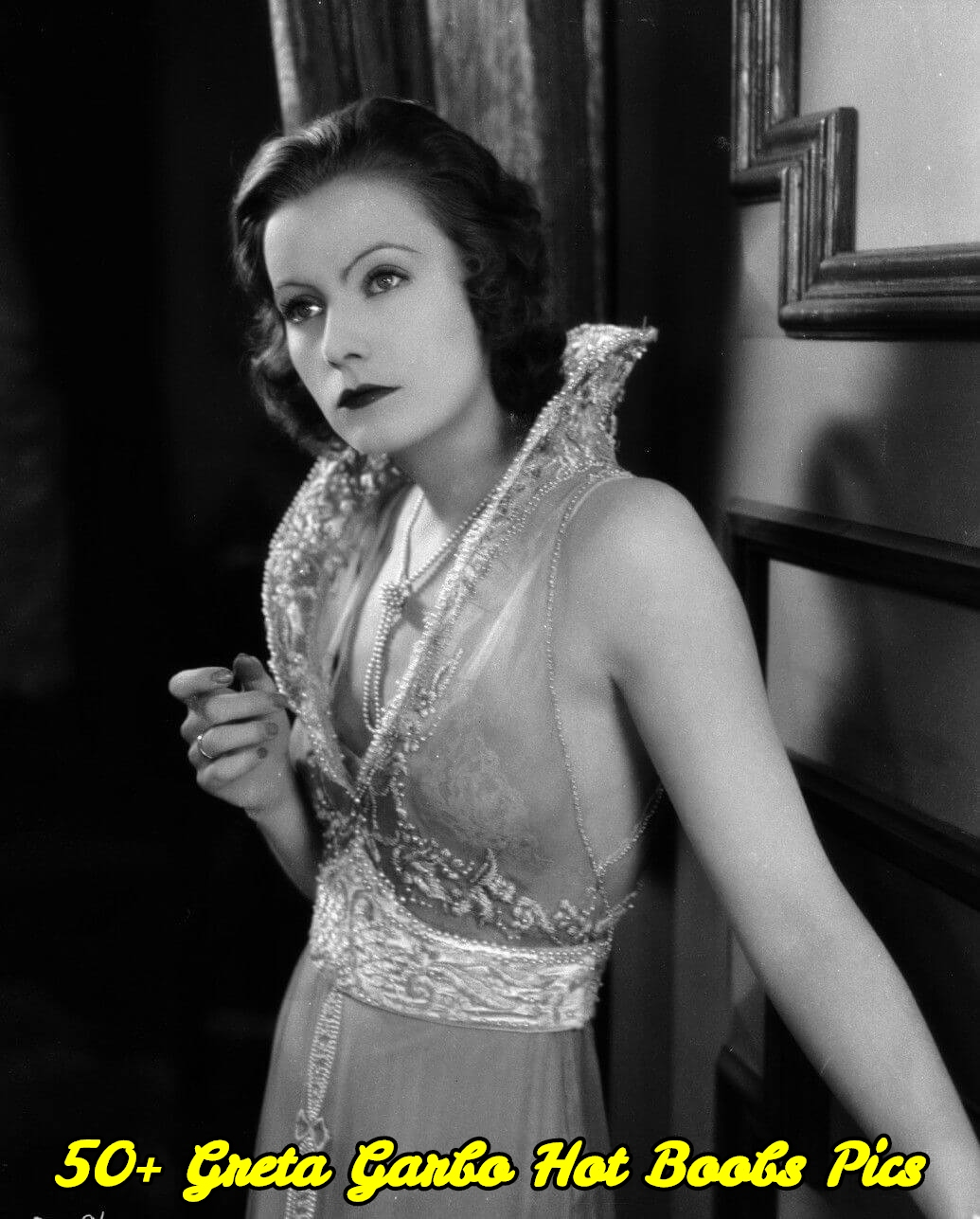 Greta Garbo hot boobs pics