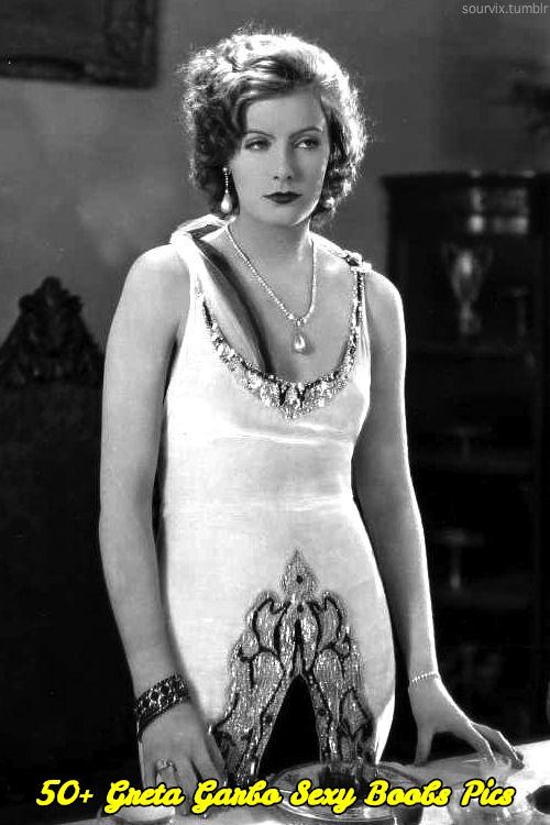 Greta Garbo sexy boobs pics