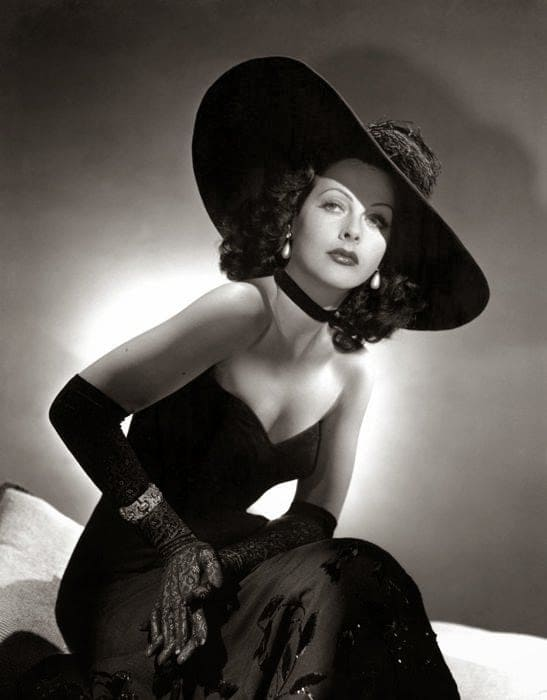 Hedy Lamarr busty pictures