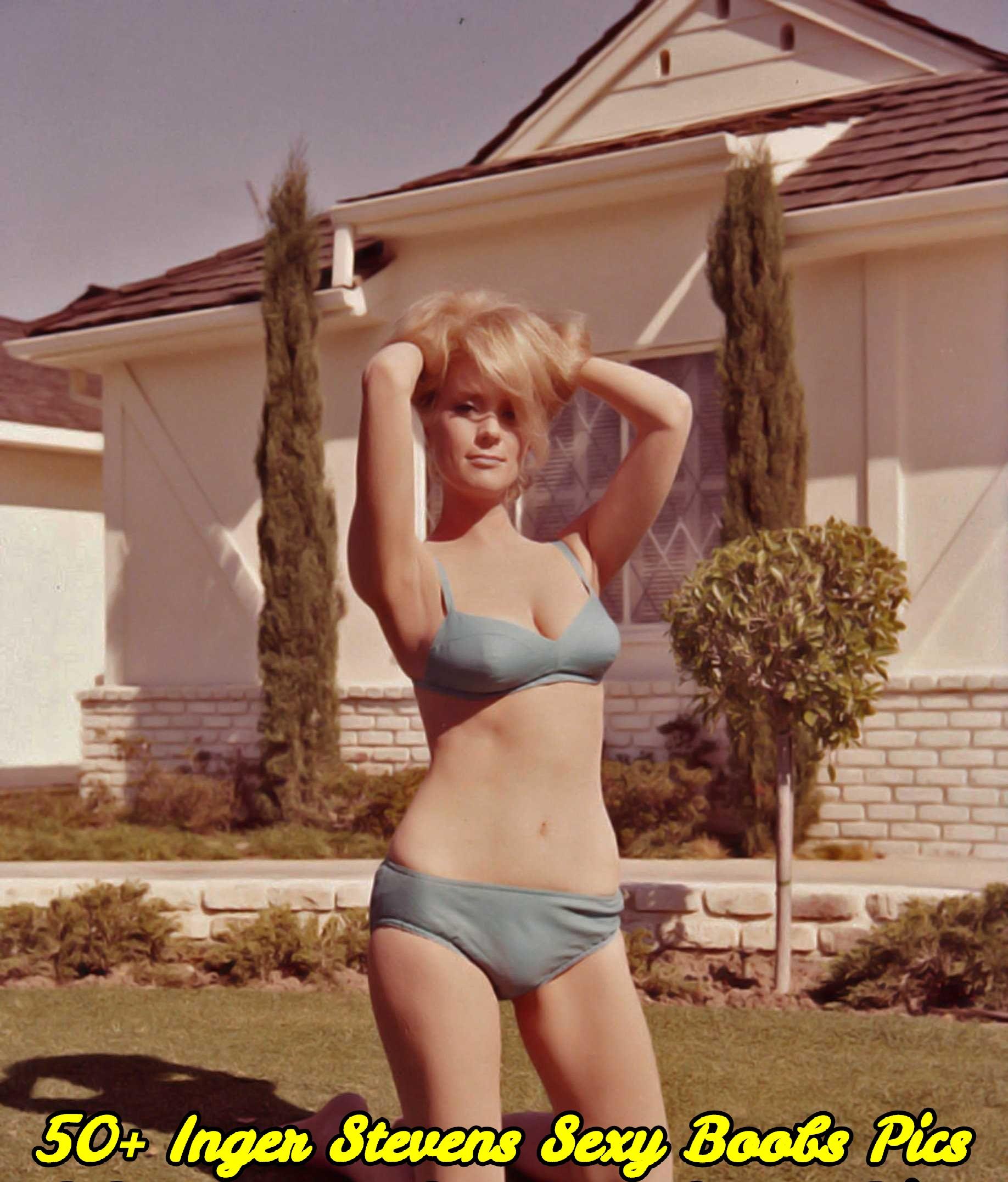 Inger Stevens sexy boobs pics