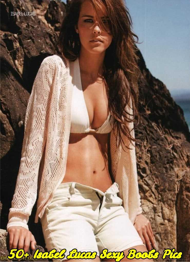Isabel Lucas sexy boobs pics
