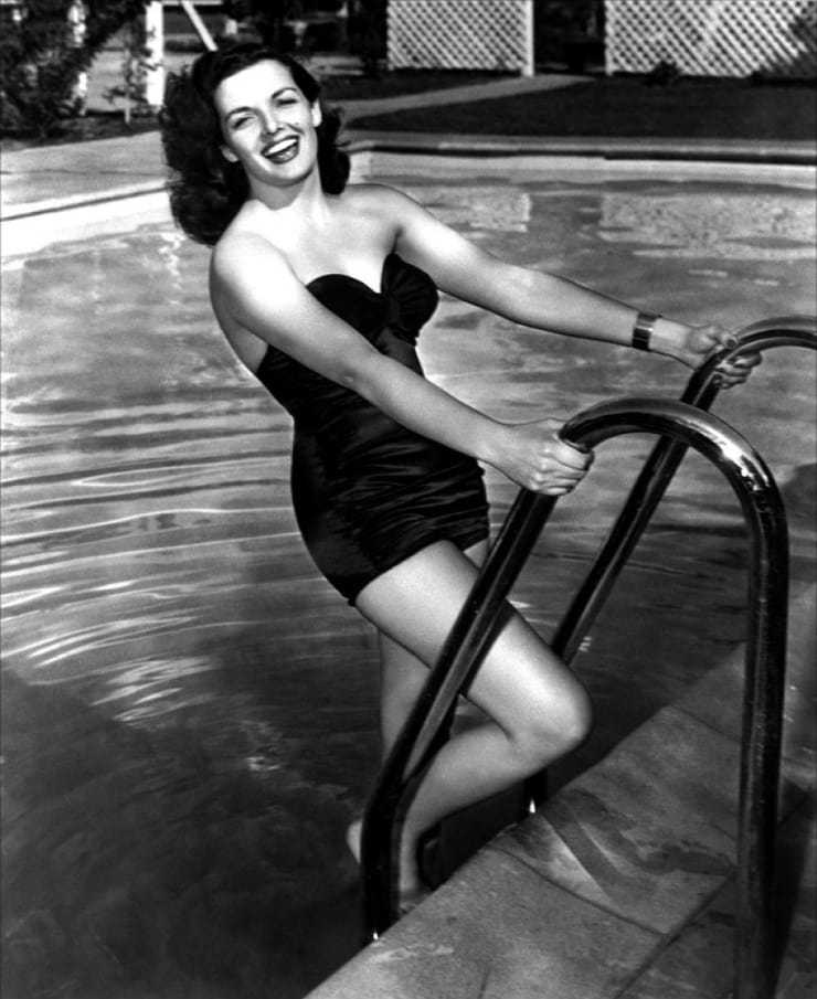 Jane Russell big busty pics