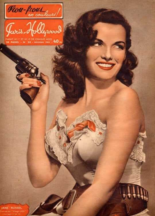 Jane Russell hot look pics