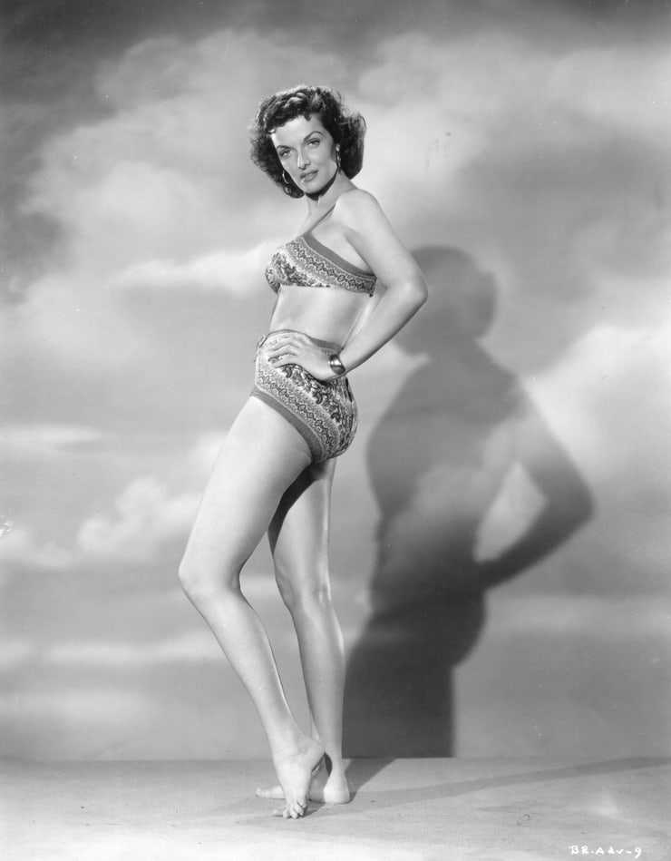 Jane Russell sexy side butt pics