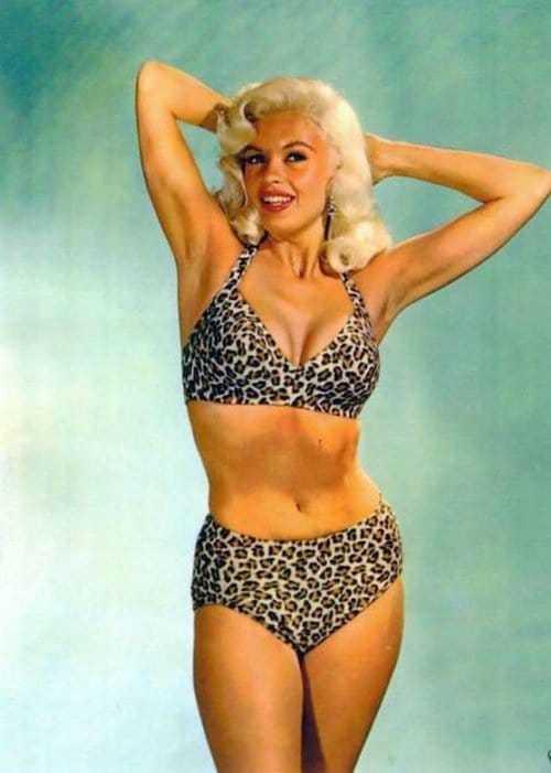 Jayne Mansfield hot lingerie pics
