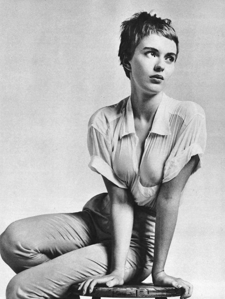 Jean Seberg sexy look pics