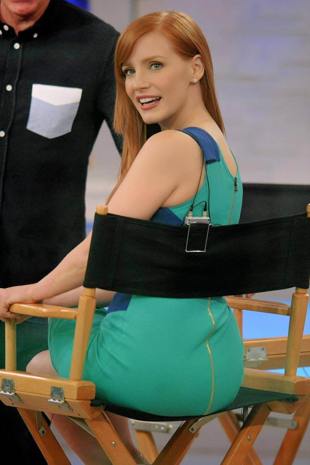 Jessica Chastain sexy ass pics
