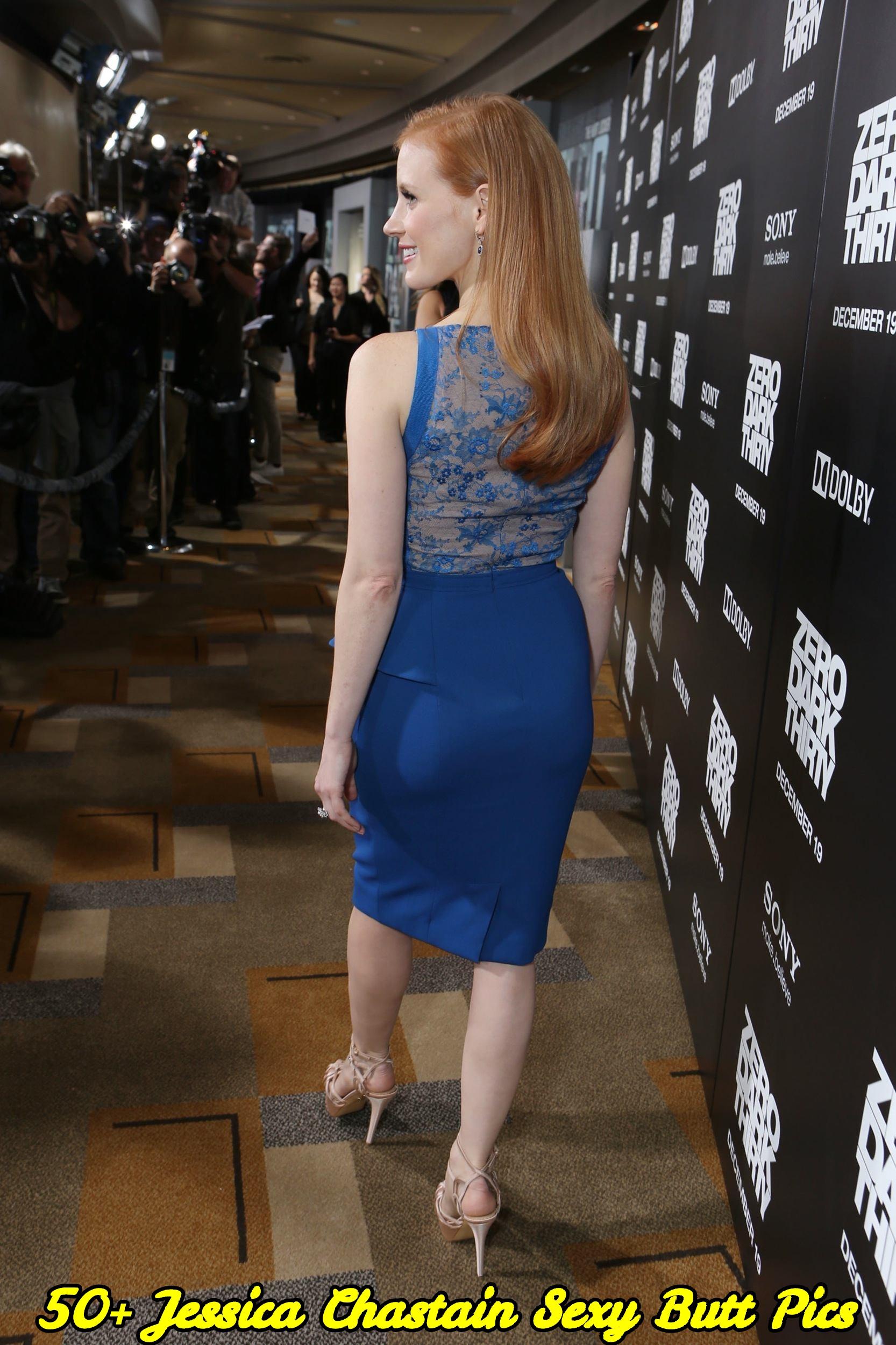 Jessica Chastain sexy butt pics