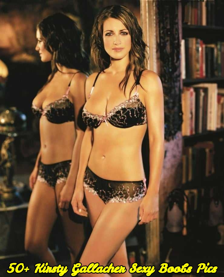 Kirsty Gallacher sexy boobs pics