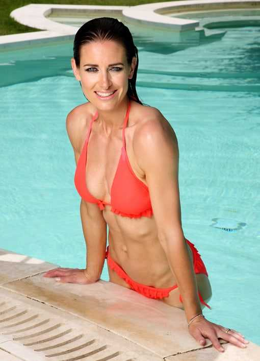 Kirsty Gallacher sexy cleavage pictures