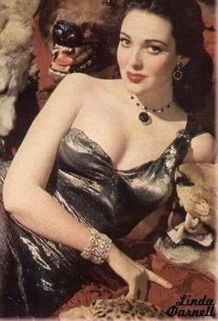 Linda Darnell big boobs pics