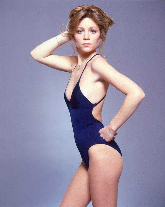 Lisa Hartman Black sexy lingerie pics