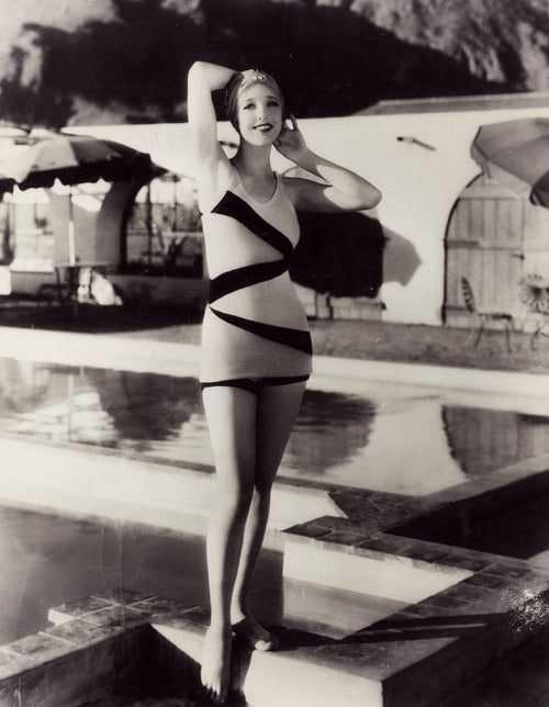Loretta Young lingerie pics