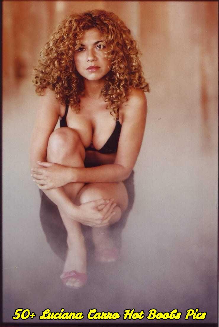 Luciana Carro hot boobs pics