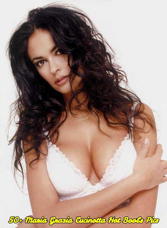 Maria Grazia Cucinotta hot boobs pics