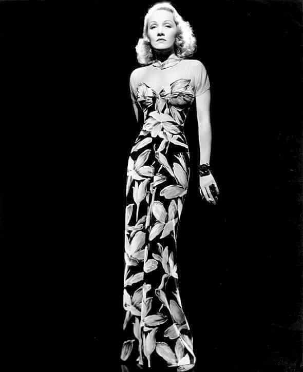 Marlene Dietrich big busty pics