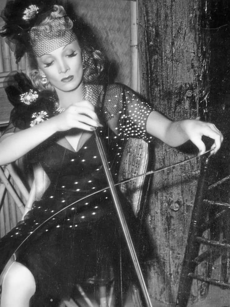 Marlene Dietrich busty pics