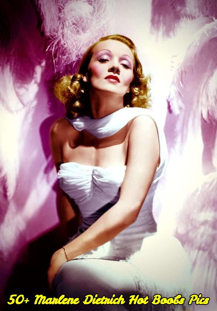 Marlene Dietrich hot boobs pics