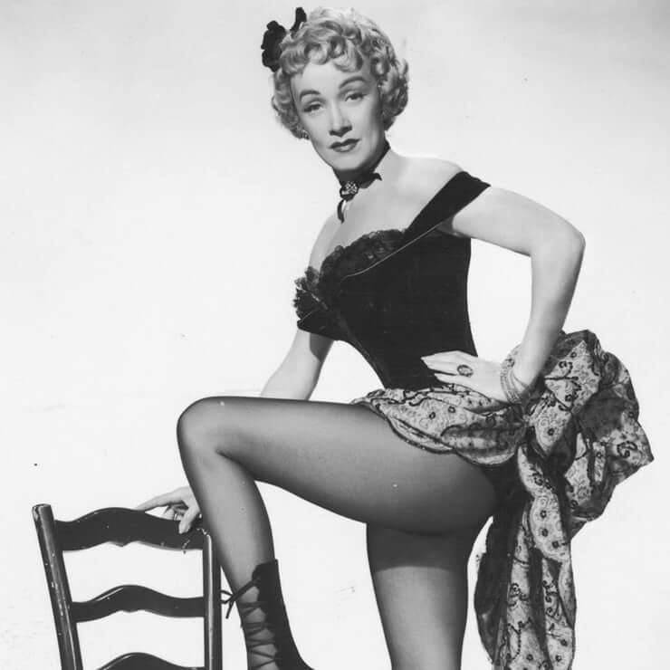 Marlene Dietrich hot look pics
