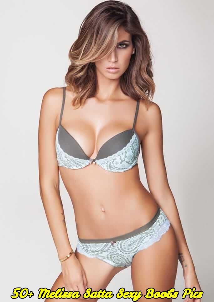 Melissa Satta sexy boobs pics