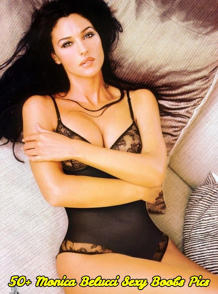Monica Belucci sexy boobs pics