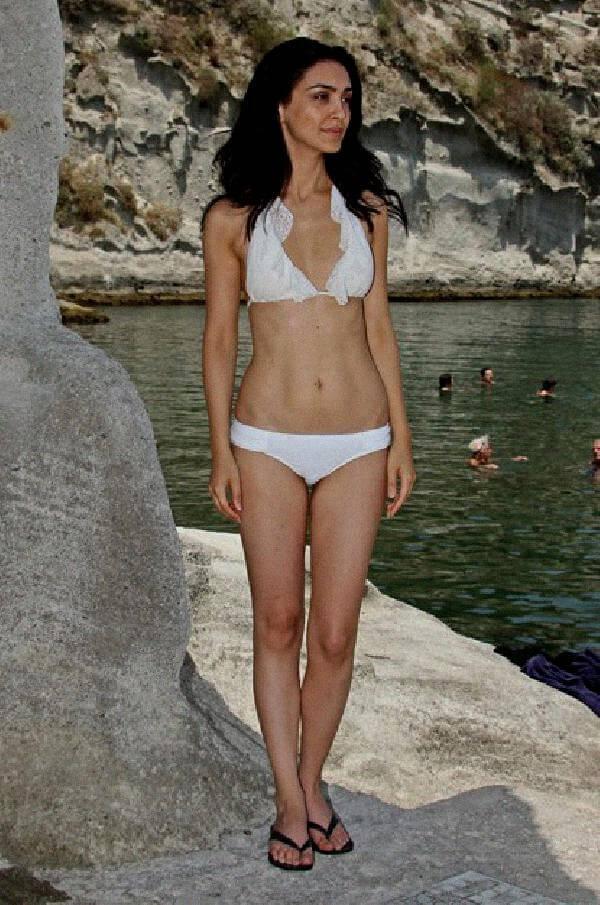 Nazanin Boniadi bikini pics