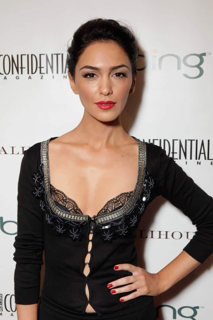 Nazanin Boniadi cleavage pics
