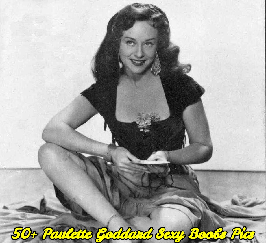Paulette Goddard sexy boobs pics