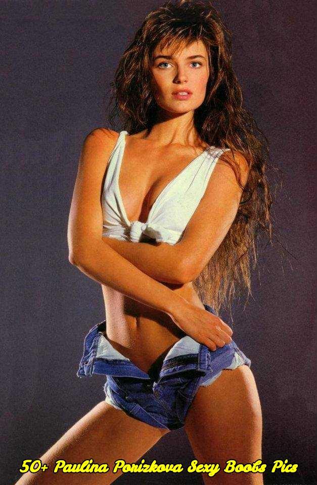 Paulina Porizkova sexy boobs pics