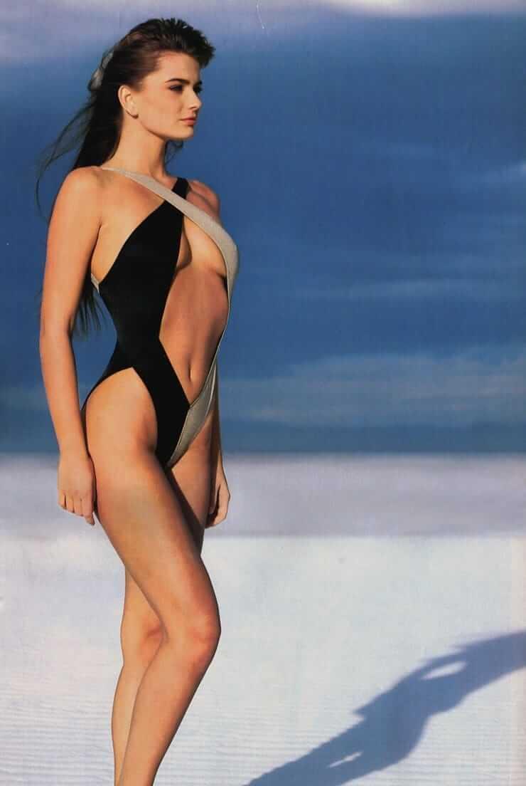 Paulina Porizkova sexy lingerie pics