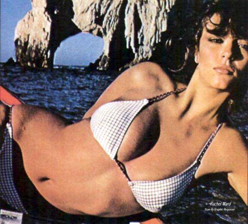Rachel Ward sexy bikini pics