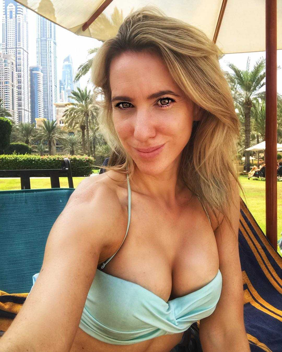 Rebecca Ferdinando sexy cleavage pics