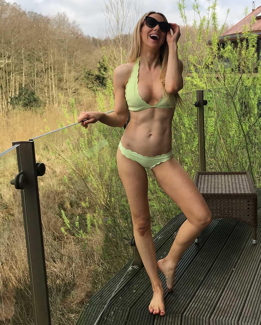 Rebecca Ferdinando sexy cleavage pictures