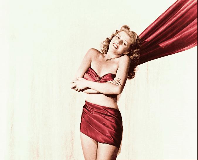 Rita Hayworth bikini pic