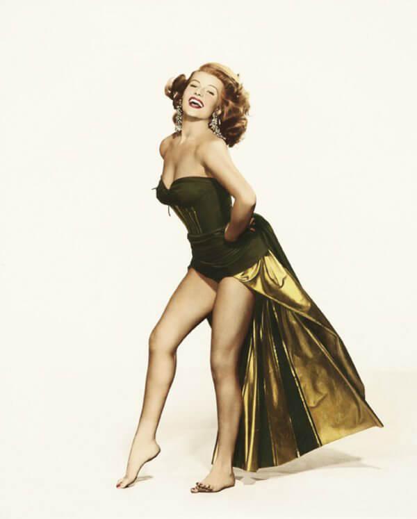 Rita Hayworth busty pics
