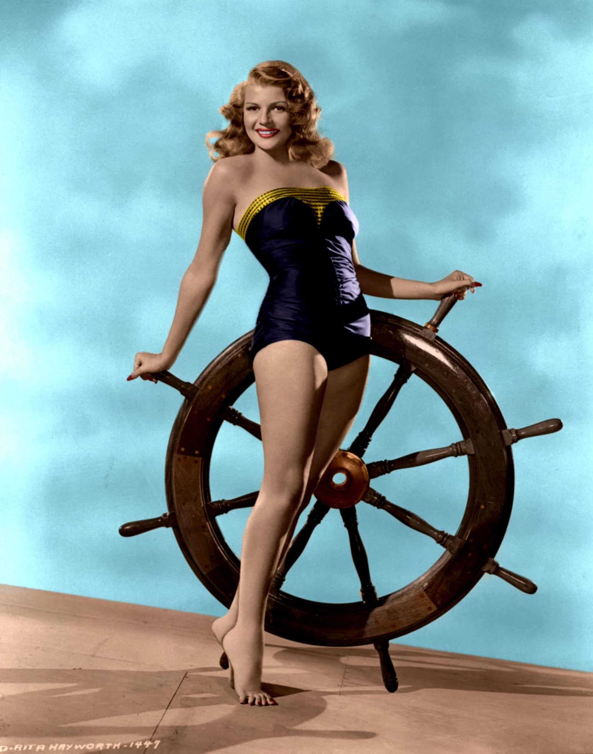 Rita Hayworth lingerie pics