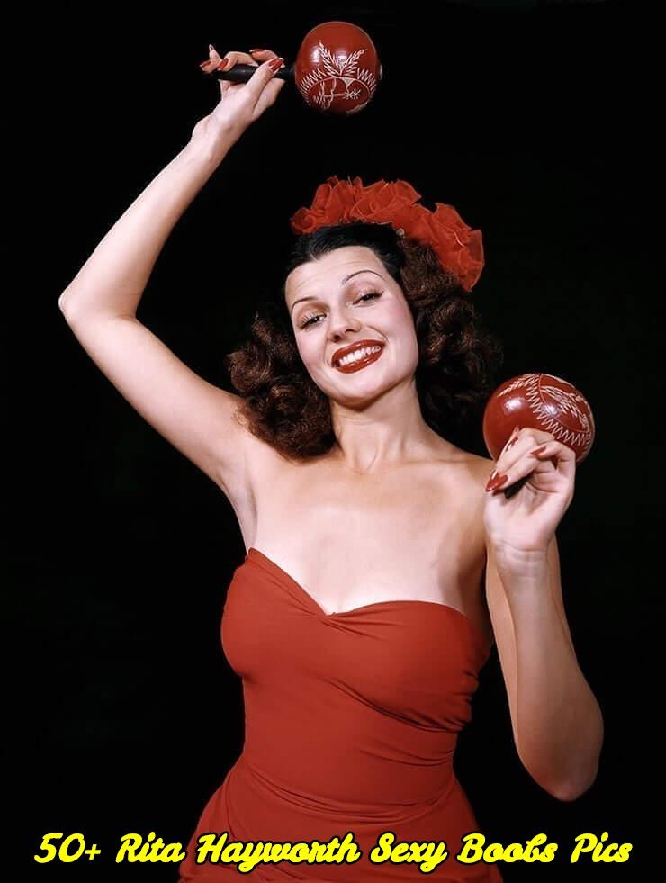 Rita Hayworth sexy boobs pics