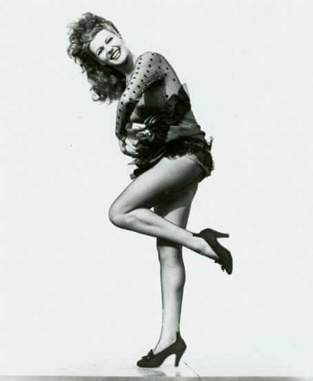 Rita Hayworth sexy side ass pics