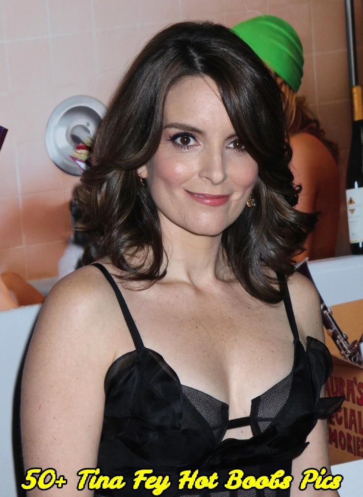Tina Fey hot boobs pics