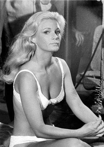 Yvette Mimieux sexy cleavage pictures