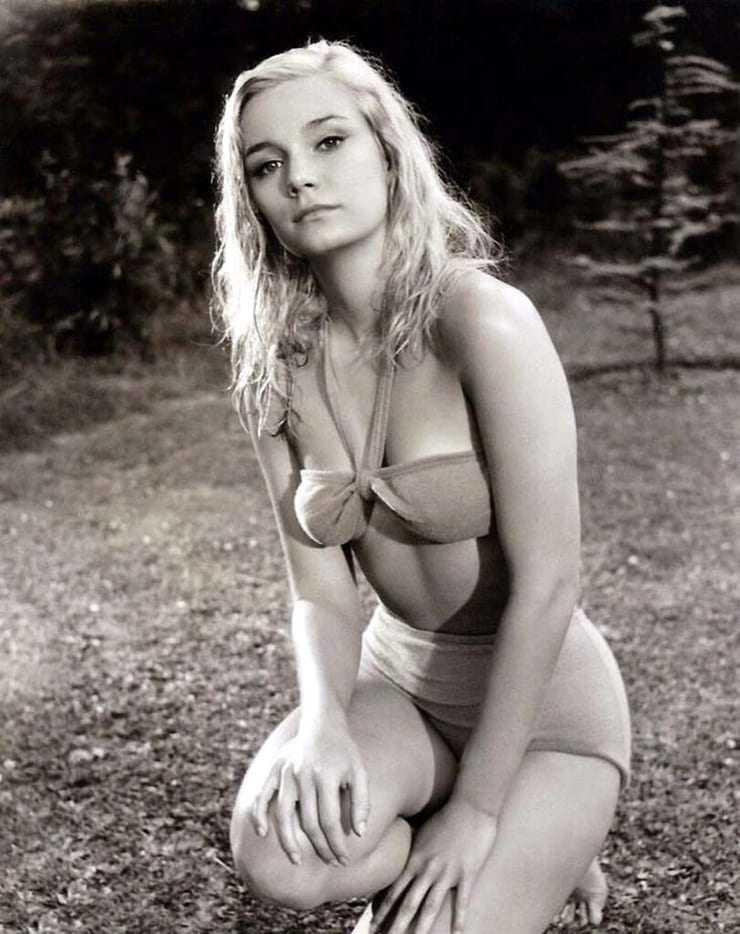 Yvette Mimieux sexy lingerie pictures