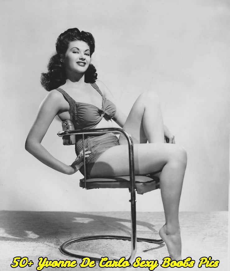 Yvonne De Carlo sexy boobs pics