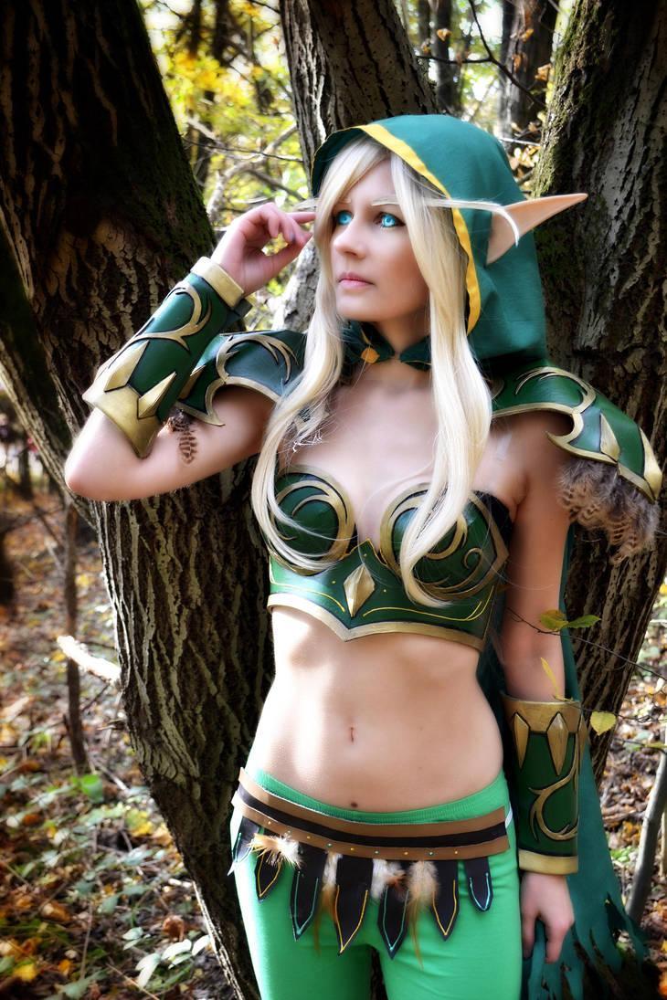 alleria windrunner cosplay