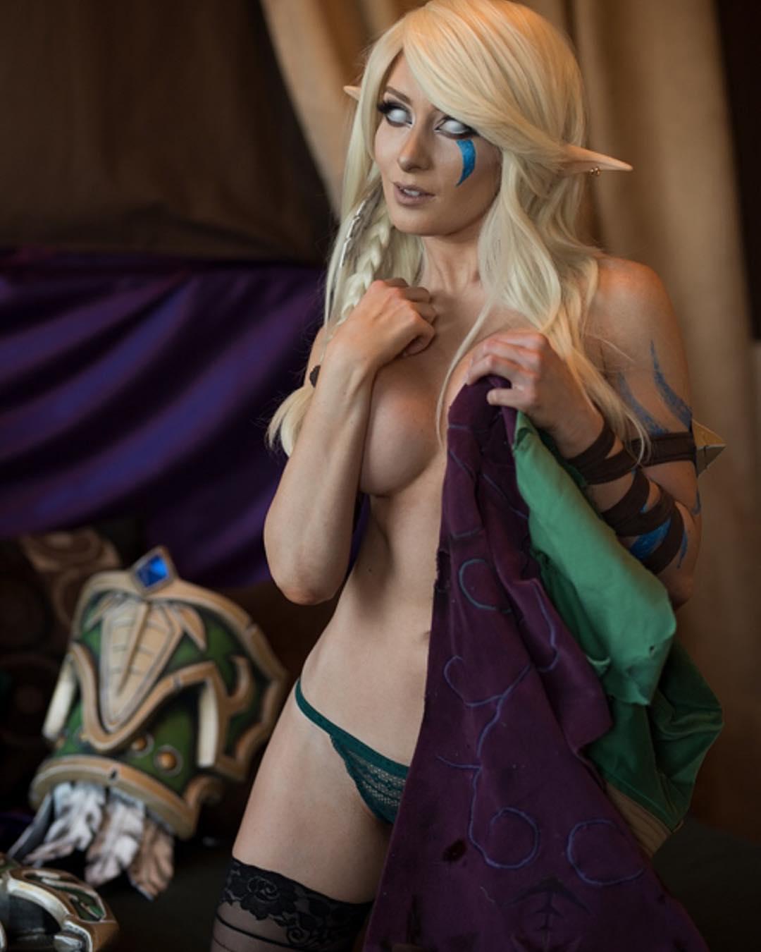alleria windrunner hot cosplay