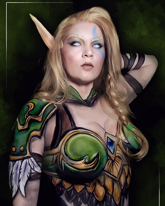 alleria windrunner sexy cosplay