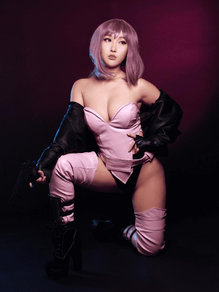major motoko kusanagi sexy cosplay