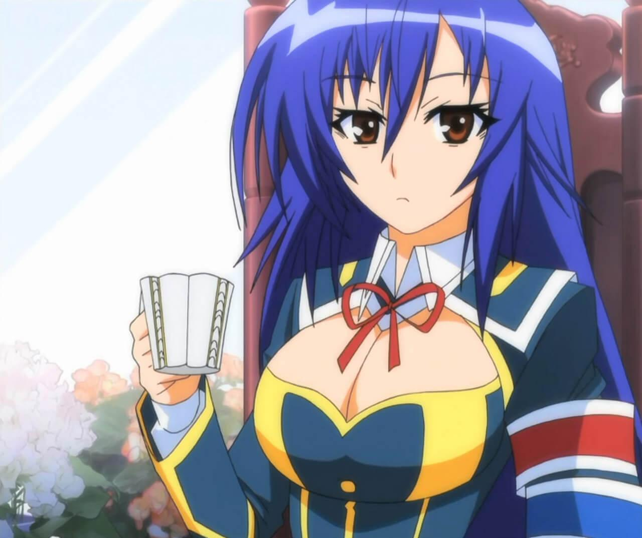 medaka kurokami hot boobs
