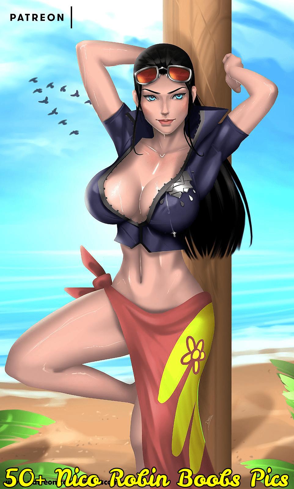 nico robin boobs pics